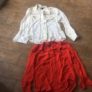 Lot of J Crew blouses. NWT.